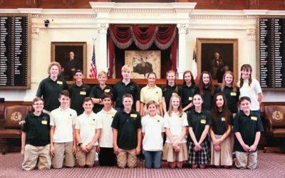 7th Grade Texas History Trip