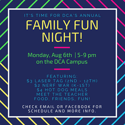 Family Fun Night 2018