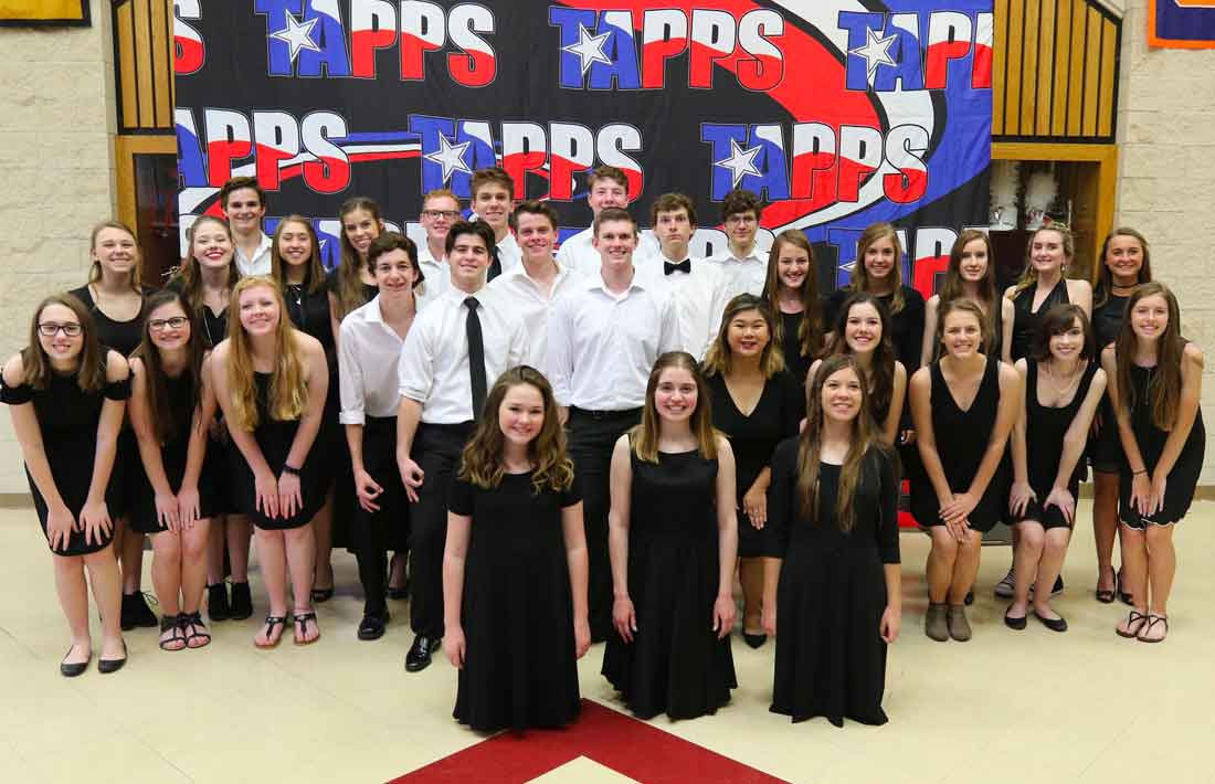 DCA Choir at TAPPS Competition