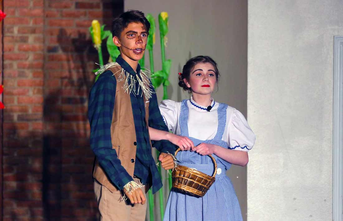 DCA Theater Arts Dorothy and Scarecrow