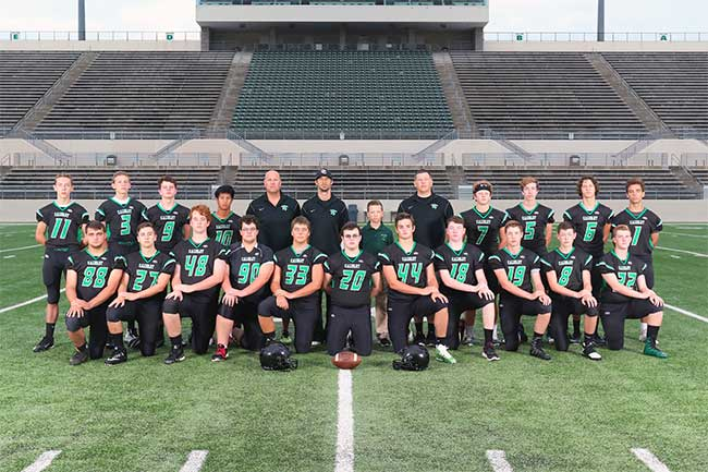 2017-18 Varsity Football Team Photo