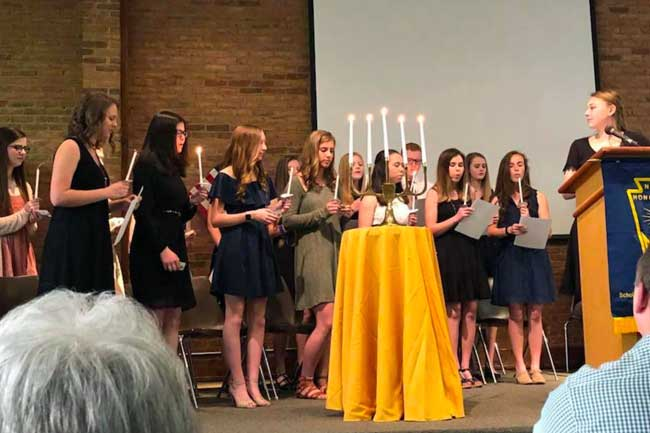 DCA National Honor Society Inductees