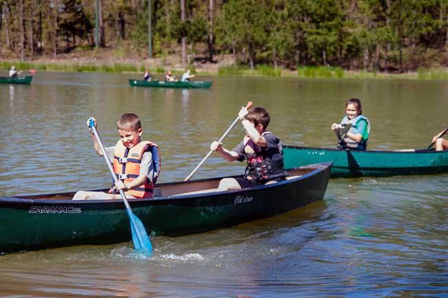 DCA's Spring Retreat for 5th Grade