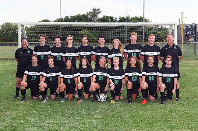 2017-18 DCA Varsity Soccer Team