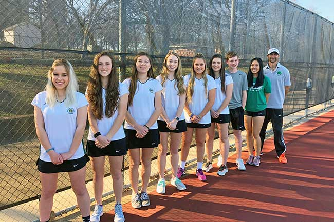 Denton Calvary High School Tennis Team
