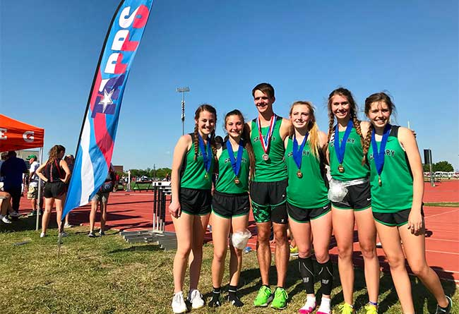 2018 TAPPS State Meet Winners