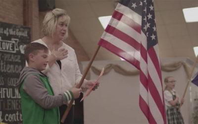 Chapel Flag Holders