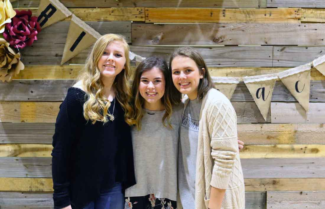 DCA Students at Grit & Grace Celebration