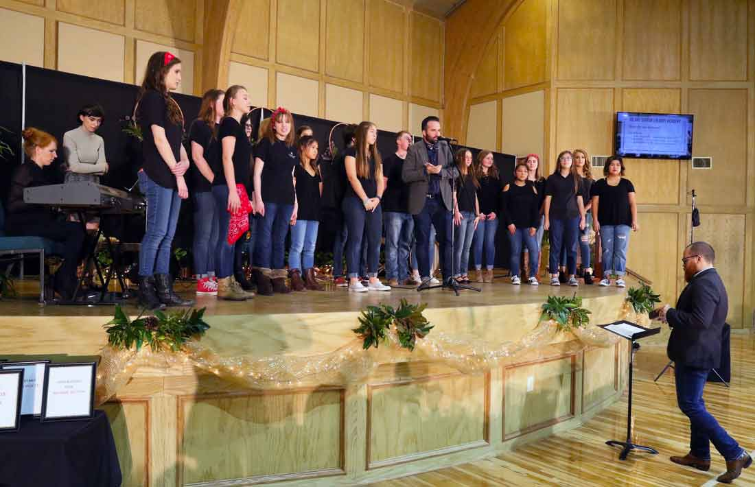 Choir Performers at DCA Grit & Grace