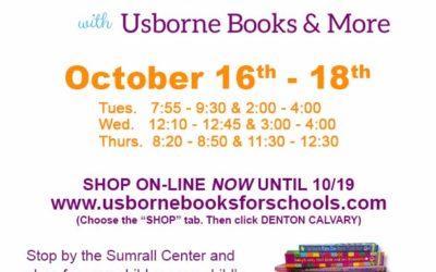 Book Fair Scheduled for October