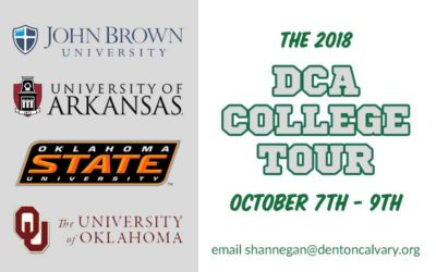 Announcing the 2018 College Tour