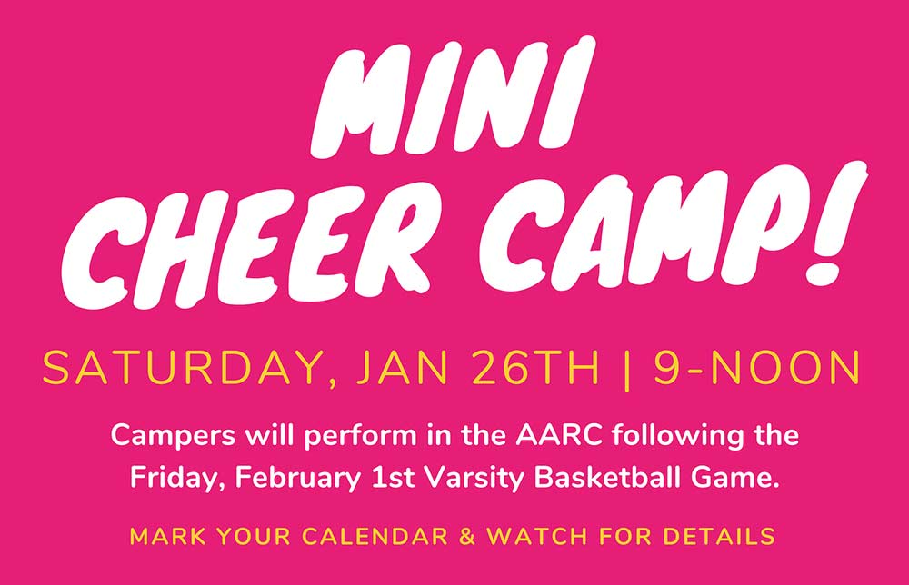 Mini Cheer Camp Announced
