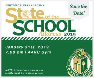 Private Denton School Hosts State of the School Meeting 2019