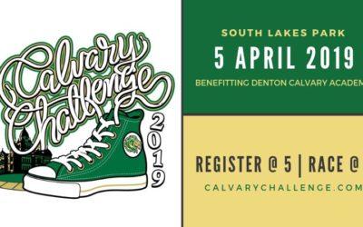 It's Calvary Challenge Time!