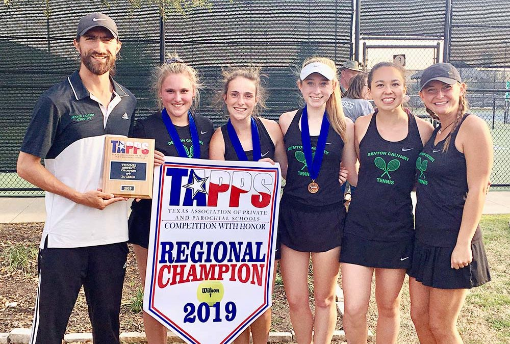DCA Ladies are Regional Tennis Champs