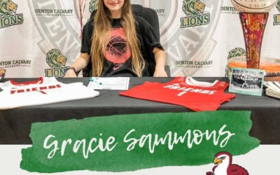 Gracie Sammons Signs with Friends University