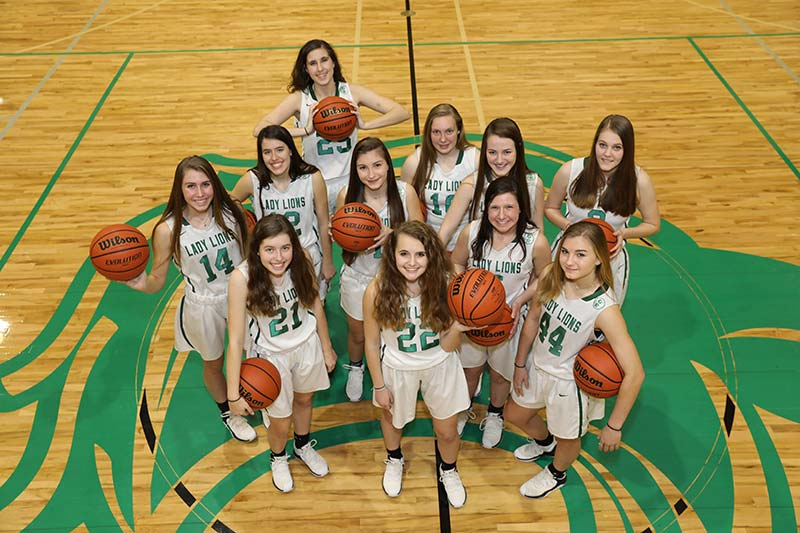 2018-19 DCA Varsity Girls Basketball Team